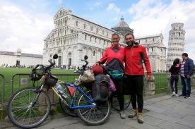 Recién llegados a Pisa