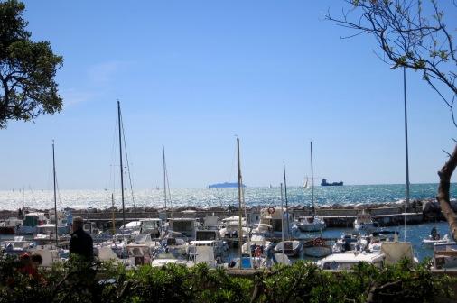 Pequeño puerto deportivo a las afueras de Livorno