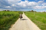 Pedaleando camino a Tarquinia