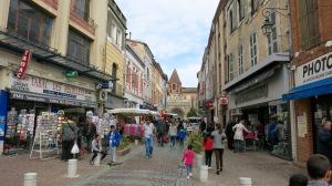 Las calles de Moissac