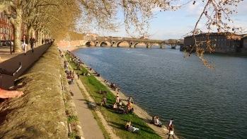 Llegada a Toulouse
