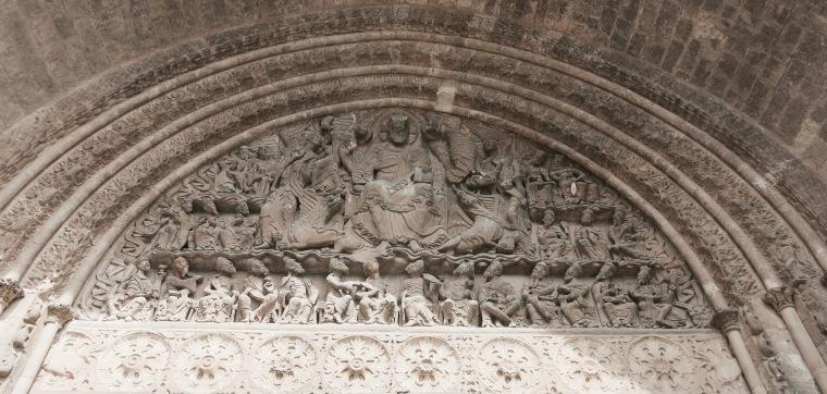 Pórtico de la Abadía de Moissac