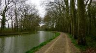 Camino antes de llegar a Castelnaudary