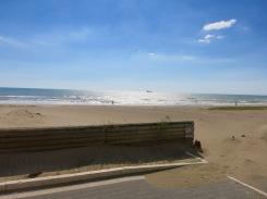 La costa cerca de Anzio