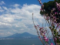 Vista del Vesubio