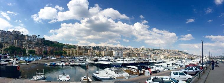 Vista de Nápoles