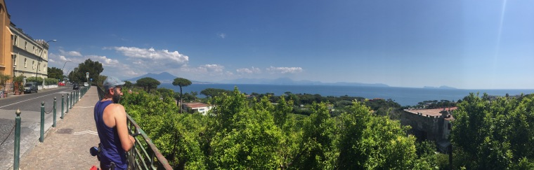 Panorámica del Golfo de Nápoles