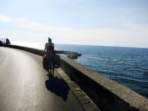 Pedaleando en la península Sorrentina