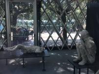 Moldes de humanos encontrados bajo la ceniza de Pompeya