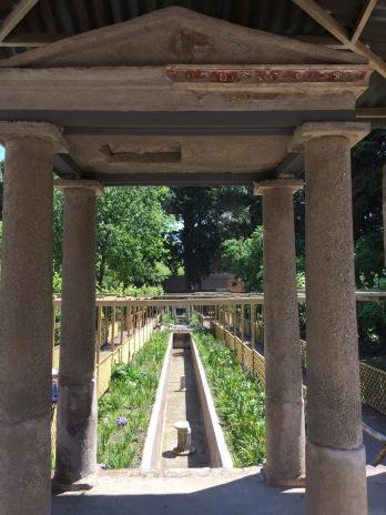 Entrada a casa pompeyana