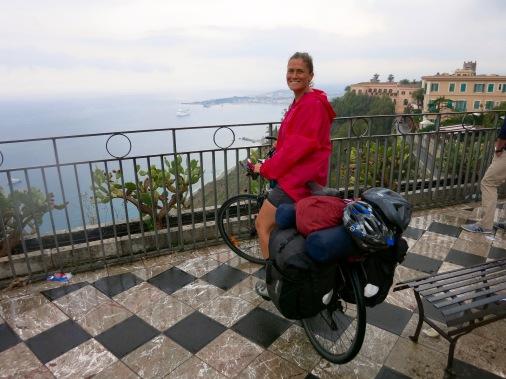 Recién llegados a Taormina