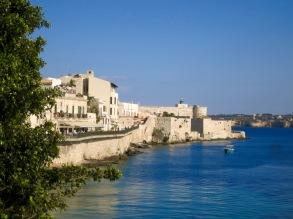 Muralla y fortaleza de Ortigia
