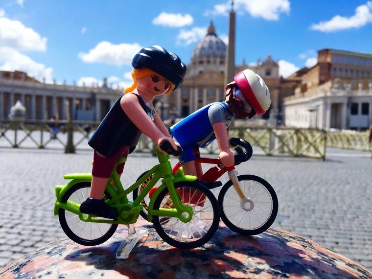 En la Piazza San Pietro