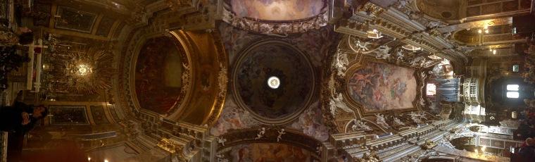 Panorámica de Santa María della Vittoria