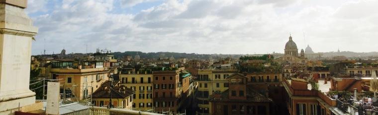 Vista desde Trinità dei Monti