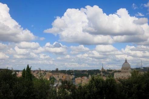 Vista desde El Gianicolo