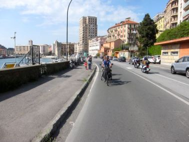 Saliendo de Savona
