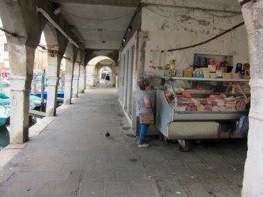 Un puesto callejero